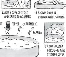 Illustrated Fall Cookbook Recipe