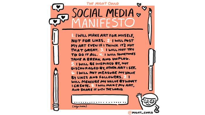 Social Media for Artists: A Manifesto. Christine Nishiyama, Might Could Studios