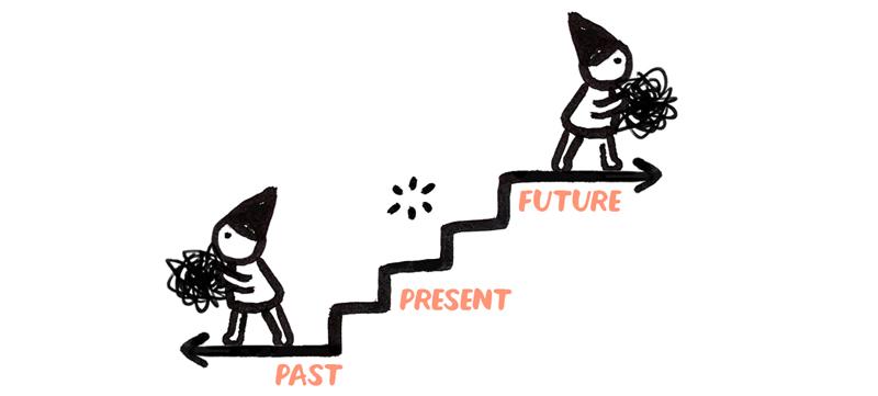 AQ Shift #3: Past/Future → Present. Christine Nishiyama, Might Could Studios.